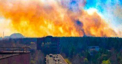 Пожар в Чернобыльской зоне: огонь подходит к хранилищам радиоактивных отходов. ВИДЕО Читайте подробнее: https://hub1news.com/