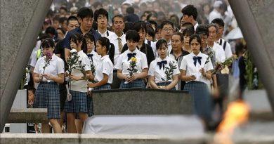75-Я ГОДОВЩИНА ЯДЕРНОЙ АТАКИ НА ХИРОСИМУ: КАК В ЯПОНИИ ПОЧТИЛИ ПАМЯТЬ 140 ТЫСЯЧ ПОГИБШИХ