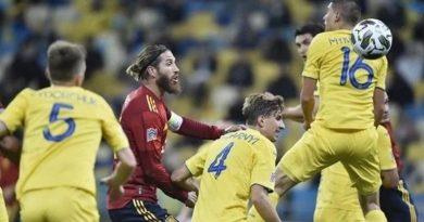 Сборная Украины впервые в истории обыграла испанцев (ВИДЕО)