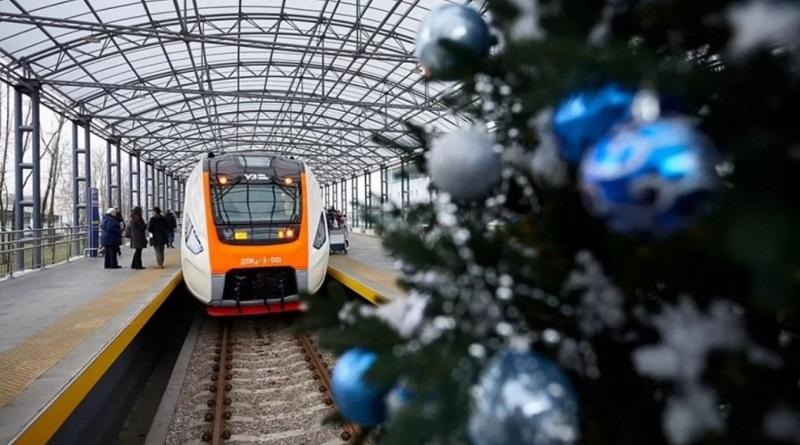 В честь новогодних праздников «Укрзалізниця» запустит дополнительный поезд
