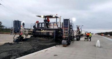 В Николаевской области завершается капитальный ремонт трассы Н-14