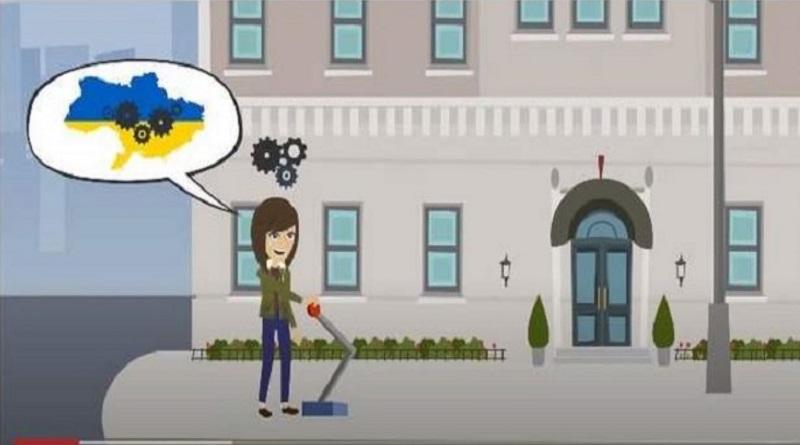 Львовский горсовет опубликовал видео с картой Украины без Крыма