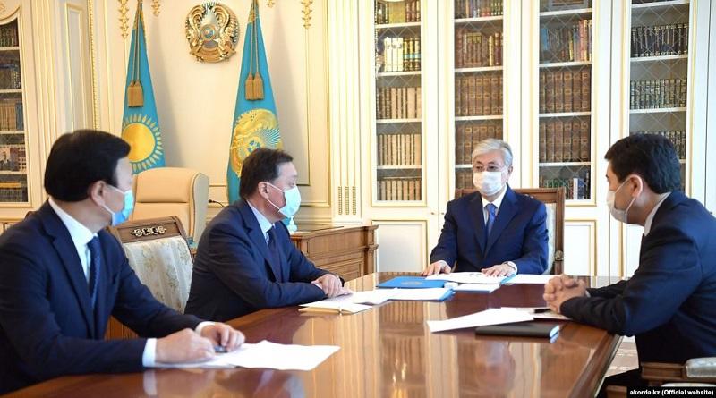 Украинский министр не встретился с казахстанским премьером из-за просроченного теста на коронавирус