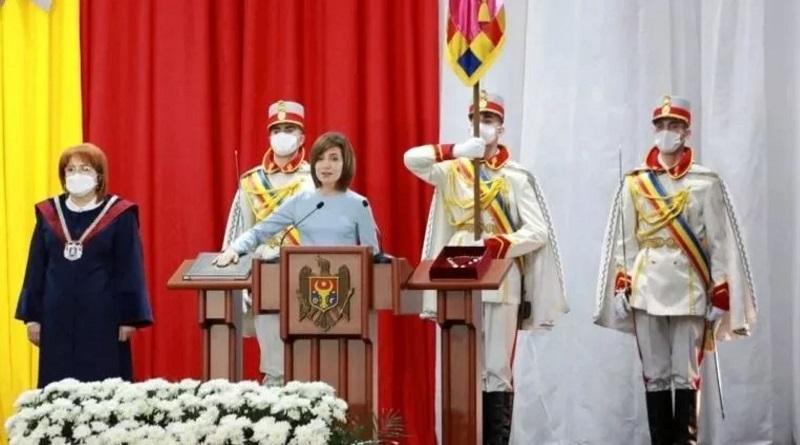 """""""Голобородько"""" живёт в Молдове. """"Буду действовать в интересах всех граждан"""", - пришедшая пешком на инаугурацию Санду заговорила на пяти языках. Видео."""