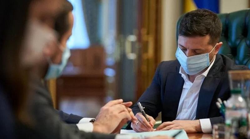 Зеленский подписал законы о поддержке бизнеса во время карантина