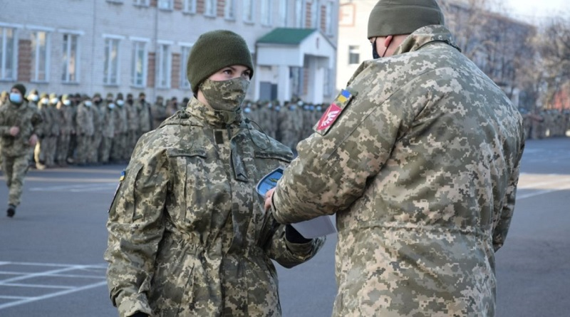 В Николаев из зоны ООС вернулись бойцы 79-й десантно-штурмовой бригады