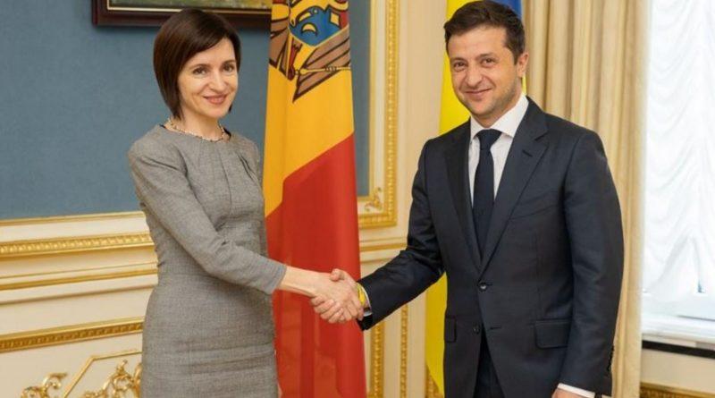 В Киеве проходит встреча Зеленского с президентом Молдовы