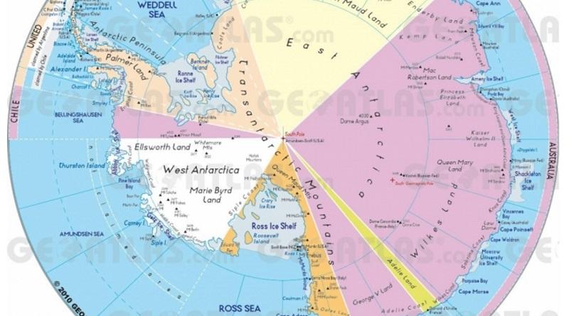 Над Антарктидой закрылась озоновая дыра рекордных размеров и глубины