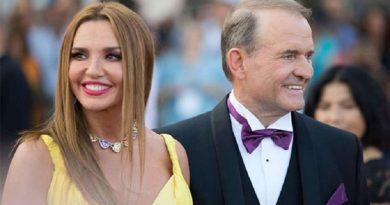 Україна ввела санкції проти Медведчука і його дружини