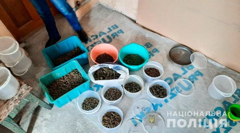 В Вознесенске у местного жителя изъяли коноплю на полмиллиона гривен