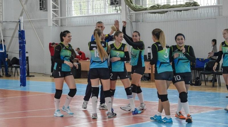 Николаевская волейбольная команда «Южанка» одержала две победы подряд