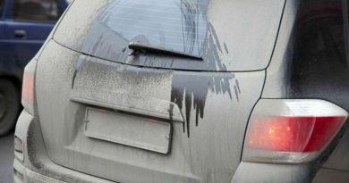 Сумму штрафов за грязные автономера существенно увеличили