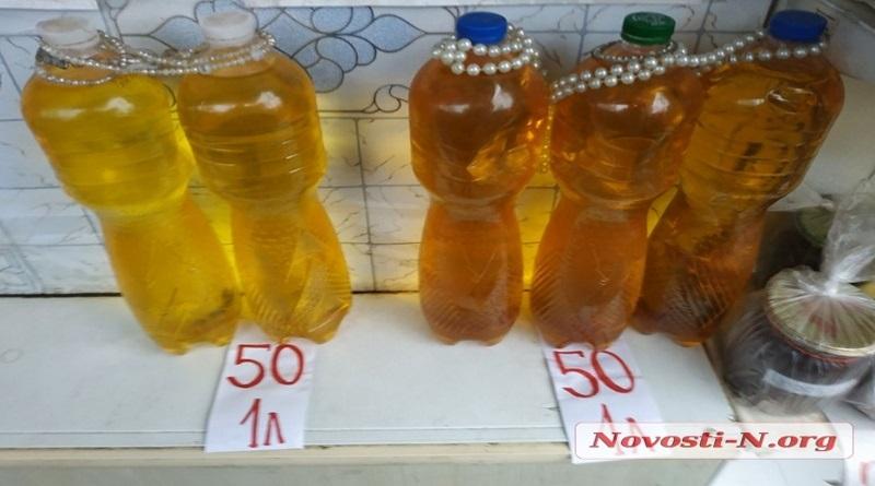 Сто гривен за бутылку: в Николаеве подорожало подсолнечное масло