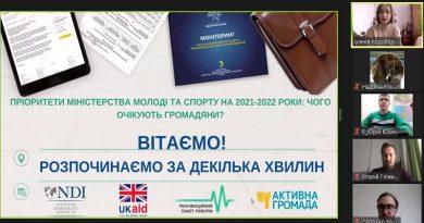 Пріоритети Міністерства молоді та спорту на 2021-2022 роки: чого очікують громадяни?