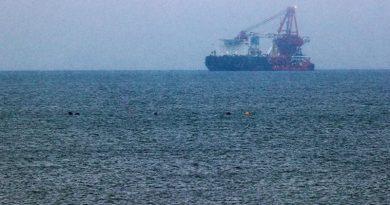 """Польский """"рыбак"""" протаранил судно при строительстве """"Северного потока – 2"""""""