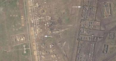 В Крыму нашли лагерь российских военных, которого не было еще месяц назад