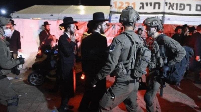 Давка на могиле рабби: в Израиле толпа затоптала десятки ортодоксальных иудеев. Видео.