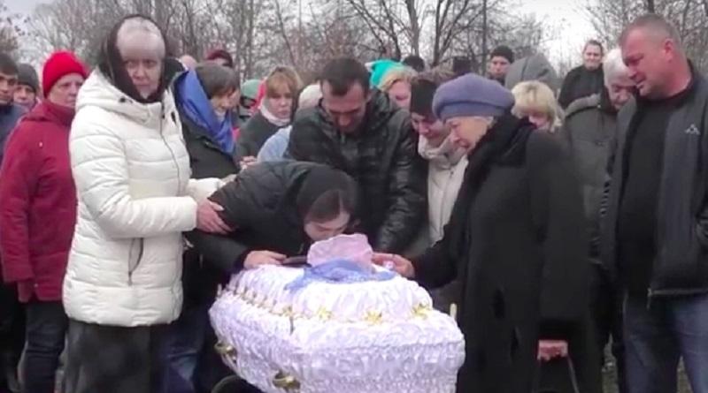 Отец погибшего на Донбассе ребенка рассказал подробности трагедии