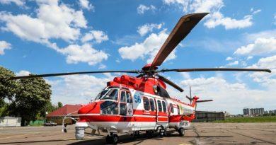 Украинские спасатели получили шестой французский вертолет Airbus
