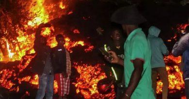 В Конго началось извержение вулкана Ньирагонго - погибли более 100 человек. Видео