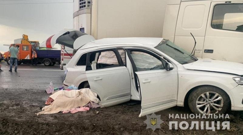 В Херсонской области в ДТП погибли муж с женой и их 6-летняя дочь