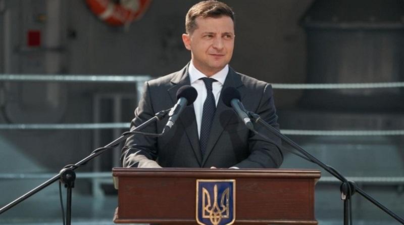 Зеленский анонсировал появление в Украине собственного военного корабля в 2023 году