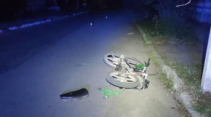 В Первомайске мопедист сбил 6-летнего ребенка с велосипедом