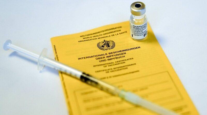 Подделку COVID-сертификатов выведут в отдельную статью Уголовного кодекса
