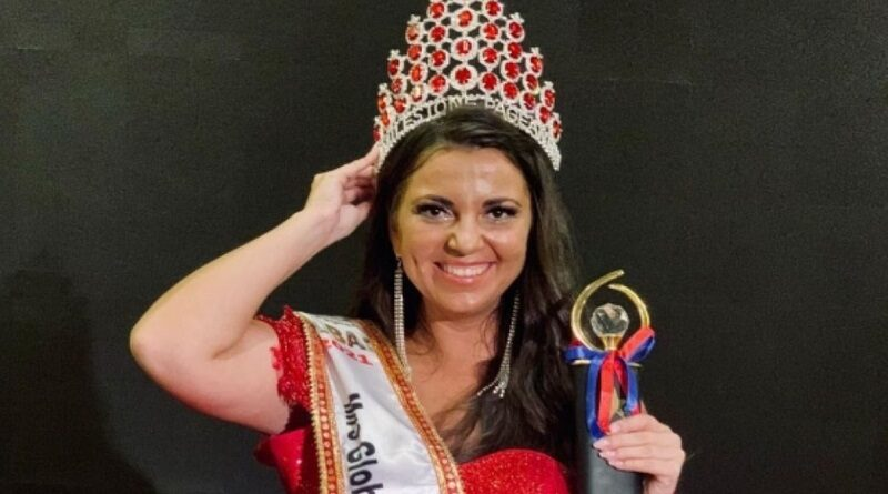 Лейтенант полиции из Украины выиграла международный конкурс «Мисс Мира Plus Size-2021»