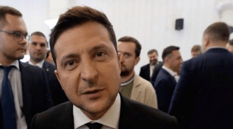 Зеленский дал комментарий об отставке Разумкова