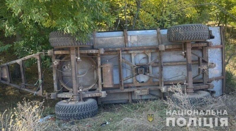 Под Одессой перевернулся прицеп с пятью детьми: погиб 9-летний мальчик